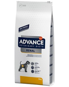 Veterinary Diets Renal для взрослых собак при заболеваниях почек 3 кг Advance