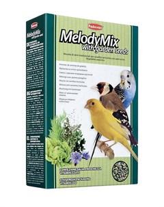 Melodymix дополнительный корм для декоративных птиц для пения 300 гр Padovan