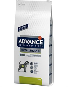 Veterinary Diets Hypoallergenic для взрослых собак при заболеваниях желудочно кишечного тракта и пищ Advance