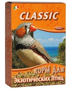 Classic корм для экзотических птиц 400 гр Fiory