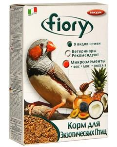 Esotici Фиори корм для экзотических птиц 400 гр Fiory