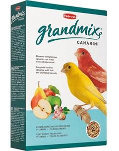 Сухой корм для канареек Grandmix Canarini комплексный 0 4 кг Padovan