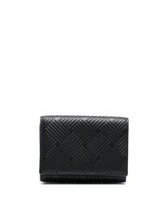 Фактурный кошелек на кнопке Bottega veneta