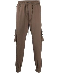 Зауженные брюки с карманами Represent