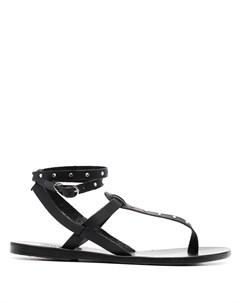 Сандалии Estia с кристаллами Ancient greek sandals