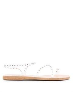 Сандалии Apli Eleftheria с кристаллами Ancient greek sandals