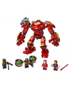 Конструктор Super Heroes Marvel 76164 Лего Супер Герои Халкбастер против агента А И М Lego