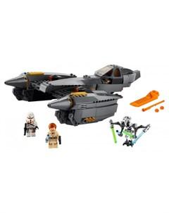 Конструктор Star Wars 75286 Лего Звездные Войны Звёздный истребитель генерала Гривуса Lego