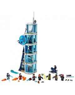 Конструктор Super Heroes Marvel 76166 Лего Супер Герои Битва за башню Мстителей Lego
