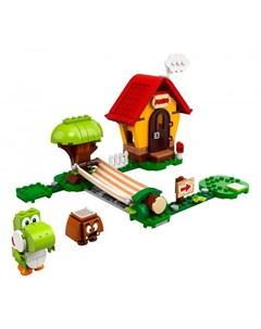 Конструктор Super Mario 71367 Лего Супер Марио Дом Марио и Йоши Дополнительный набор Lego