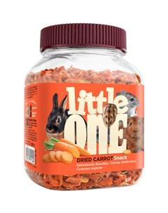 Лакомство для грызунов Сушеная морковь 200 г Little one