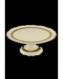 Тарелка для торта на ножке Thun