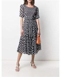Платье Anna с геометричным принтом Samantha sung
