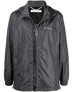 Непромокаемая куртка Industrial на молнии Off-white