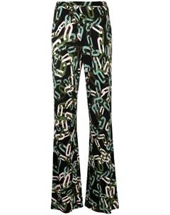 Расклешенные брюки Caspian Dvf diane von furstenberg