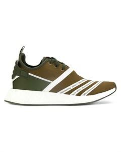 Кроссовки с панельным дизайном Adidas by white mountaineering