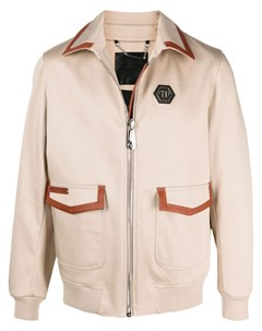 Куртка рубашка в стиле милитари Philipp plein