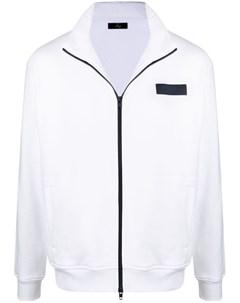 Куртка с нашивкой логотипом Fay