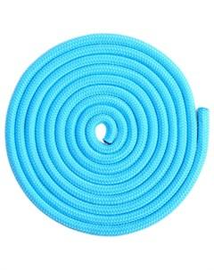Скакалка гимнастическая 3 м цвет голубой Grace dance