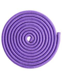 Скакалка гимнастическая 3 м цвет фиолетовый Grace dance