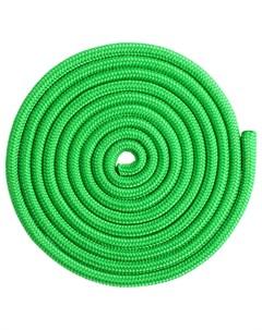 Скакалка гимнастическая 3 м цвет зелёный Grace dance