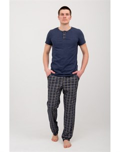 Пижама мужская Кендрик синяя Инсантрик
