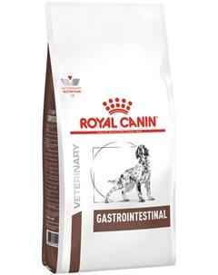 Gastro Intestinal для взрослых собак при заболеваниях желудочно кишечного тракта 15 кг Royal canin