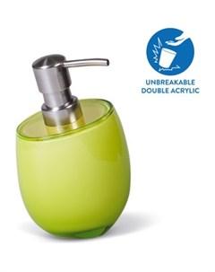 Дозатор для жидкого мыла REPOSE GREEN многослойный ударопрочный акрил 12325 12325 Tatkraft