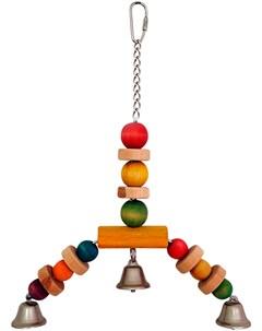 Игрушка для птиц Бусинки 25 х 22 см 1 шт Триол