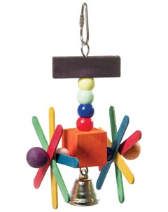 Игрушка для птиц Мельница 1 шт Триол