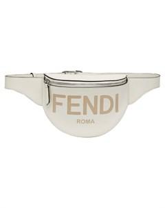 Маленькая поясная сумка с тисненым логотипом Fendi