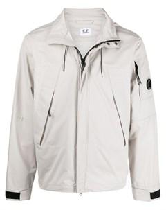 Куртка с капюшоном и логотипом C.p. company