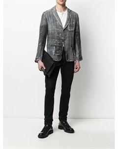 Пиджак с выбеленным эффектом Avant toi
