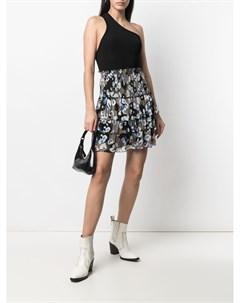Ярусная юбка с абстрактным принтом Lala berlin