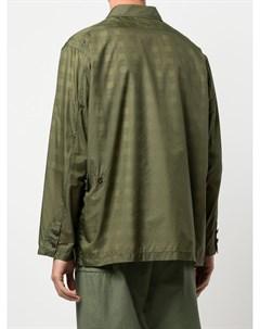 Клетчатая куртка рубашка Folk Engineered garments