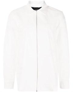 Рубашка на молнии с английской вышивкой Comme des garçons tricot