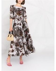 Платье Anna с принтом Samantha sung