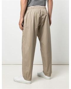 Прямые брюки с кулиской Engineered garments