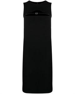 Платье с декоративным ремешком Dsquared2