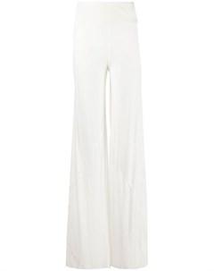 Прямые брюки с эластичным поясом Rick owens lilies