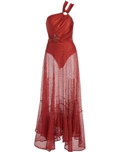Пляжное платье асимметричного кроя Patbo