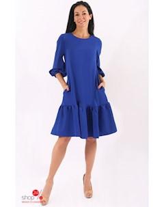 Платье цвет синий Hokkoba