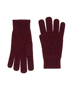 Перчатки с фактурным узором United colors of benetton