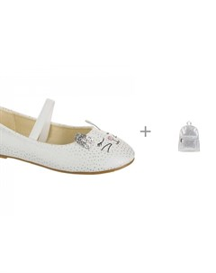 Туфли для девочки 218414 и Рюкзак 218379 Mursu