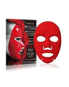 Тканевая маска для лица OMG Red Snail 26 мл Double dare