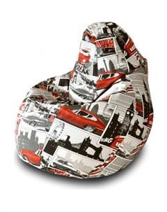 Кресло мешок Груша Ягуар 01 Пазитифчик