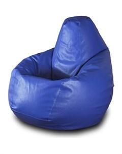 Кресло мешок Груша Бмэ5 синий Пазитифчик