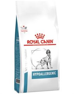Hypoallergenic для взрослых собак при пищевой аллергии 14 кг Royal canin