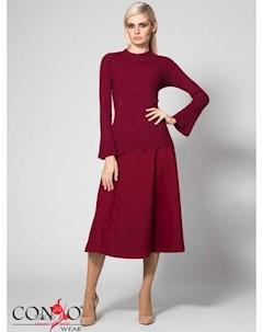 Джемпер цвет бордовый Conso