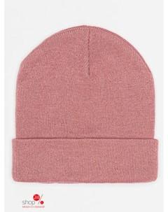 Шапка цвет розовый